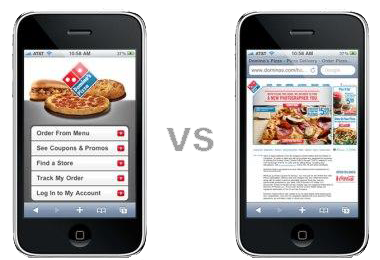 Mobile-Website-vs-Standard-Website